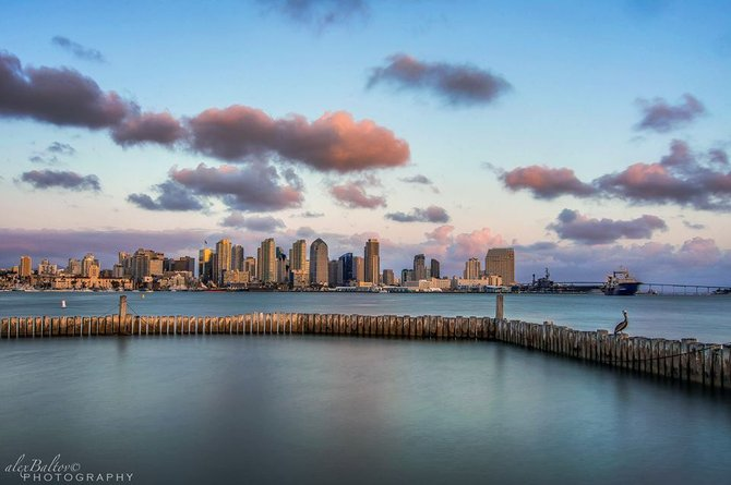 San Diego Skyline by Alex Baltov