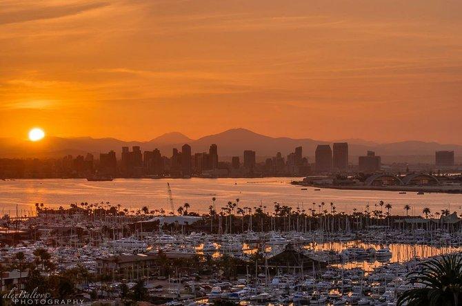 Springtime Sunrise by Alex Baltov Photography
