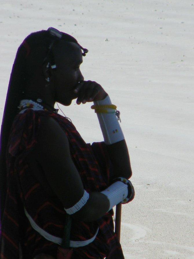 Masai Warrior @ Zanzibar, Tanzania