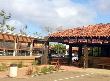Best Pizza and Brew Patio and Entrance
