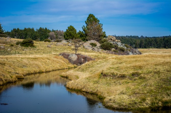 Sunset Trail on Mount Laguna offers views of expansive meadows, lakes, and forests; an excellent way to get away.