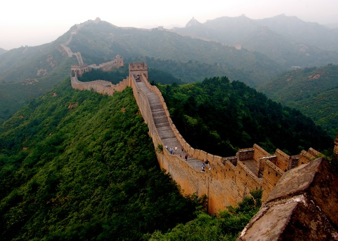 Stretching more than 13,000 miles across 15 provinces in China, the Great Wall is more of a hike than a tourist site.