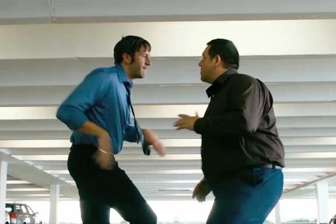 Dance fight!