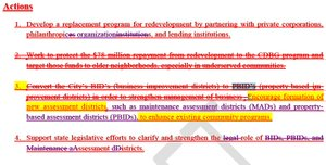 Economic Development Assessment District Strategy 2014-2016 Strikeout