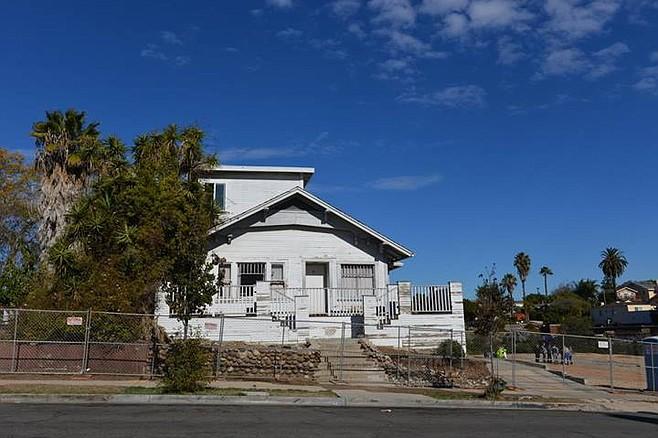 Demo'd house