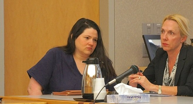 Murder defendant Dorothy Maraglino is now represented by Jane Kinsey. Photo by Eva