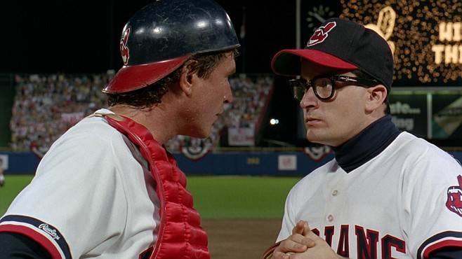 """""""Technically, it's similar in shape to any sports movie"""" — you know, like Major League."""
