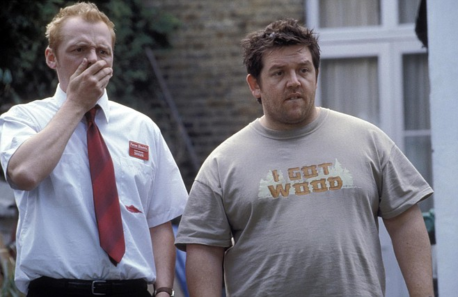 Frost with Pegg in Shaun of the Dead