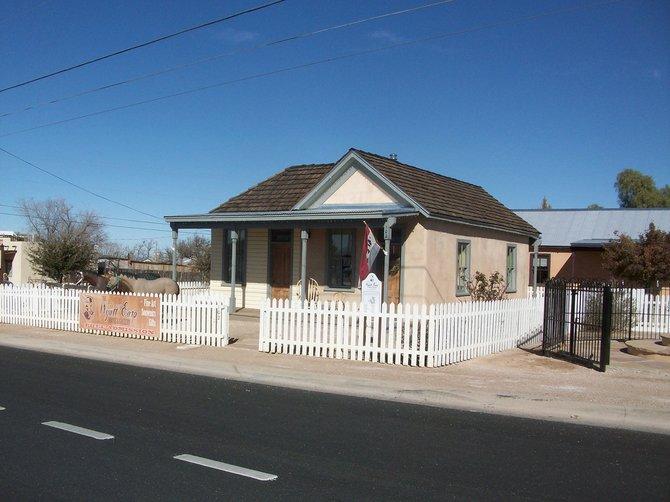 The Earp house.