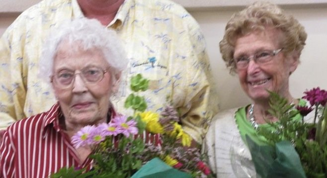 Betty Bertelson and Betty Kitchin