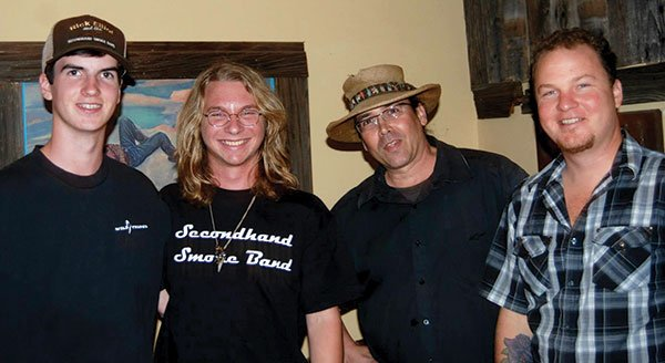 Second Hand Smoke plays music steeped in traditional country in venues from the mountains to the ocean.