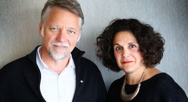 Ed Burtynsky and Jennifer Baichwal