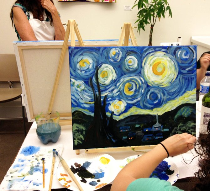 Starry Night painters
