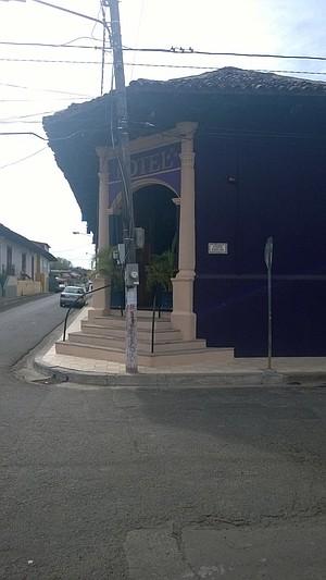 Entrance to Hotel el Club.