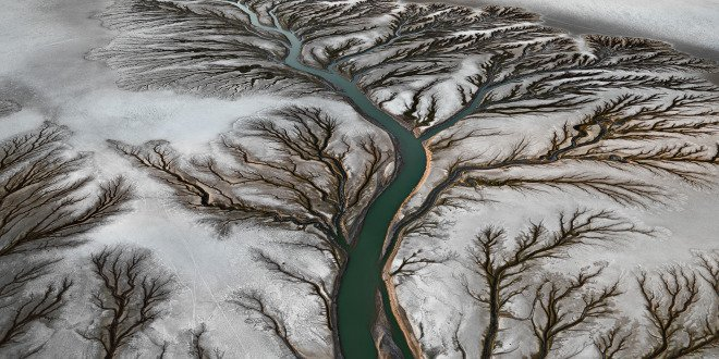 The Colorado River delta as seen through Nick de Pencier's lens.