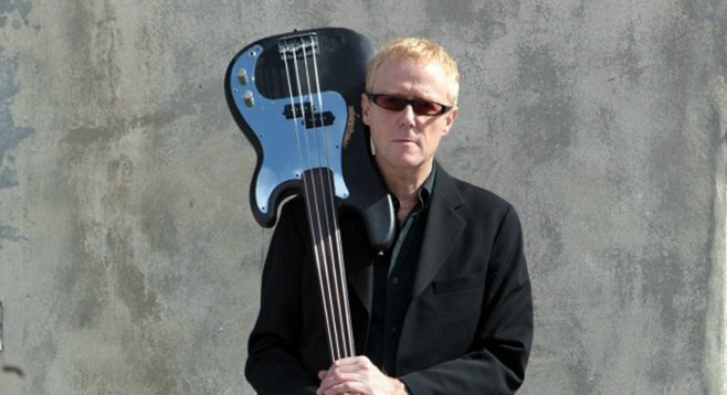 Former Bauhaus bassist David J will play the Soda Bar Monday night.