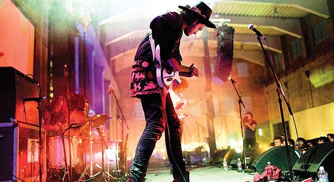 Soda Bar sets up Seattle psych-rock act Night Beats Friday night.