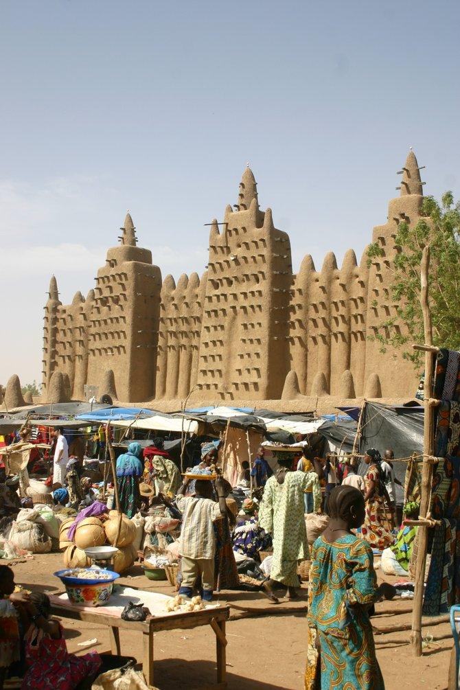 Market day in Djenné, Mali.