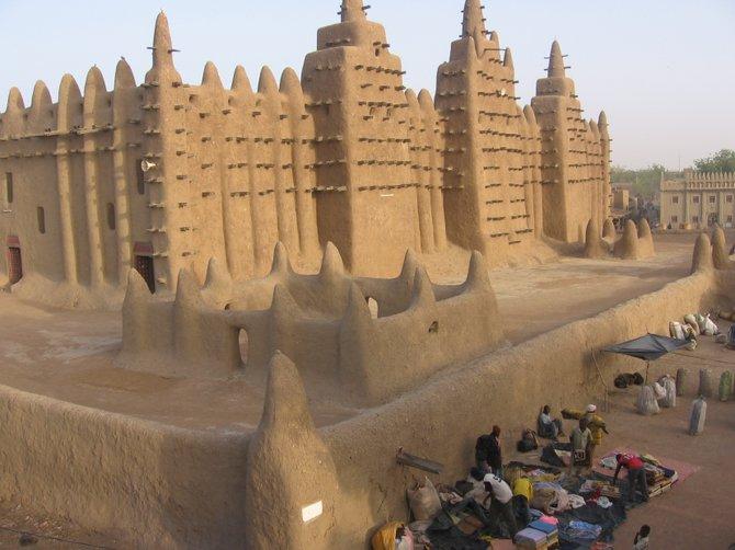 The Djenne Mosque, Mali