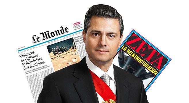 President Peña disputed the Mexican murder figures published in Tijuana's Zeta.