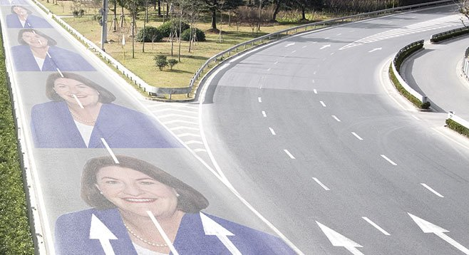 Toni Atkins rode the political cash highway from San Diego councilwoman to Assembly speaker.