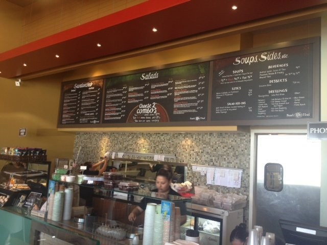Interior Croutons restaurant