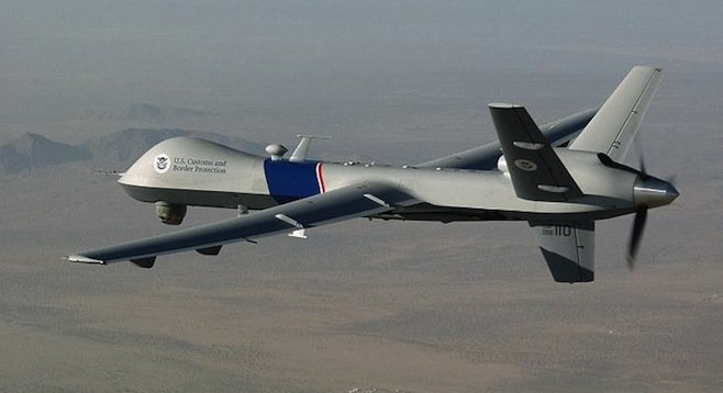 Customs and Border Protection Reaper drone