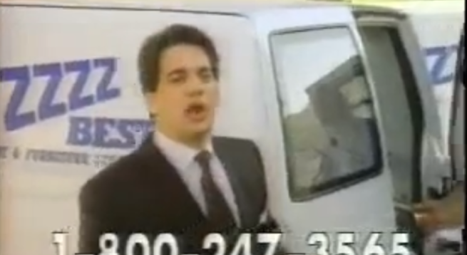 Barry Minkow in an '80s carpet-cleaning ad