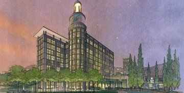 Rendering of new U-T headquarters