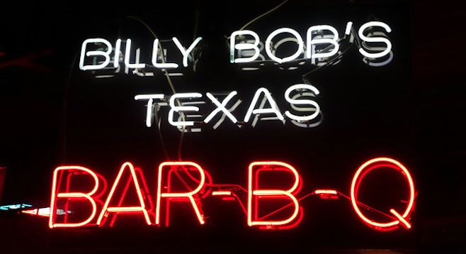 "The ""world's largest honky-tonk,"" Billy Bob's is about as Texan as it gets."