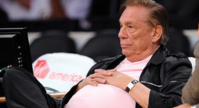 Because of alleged racist statements, Clippers owner Donald Sterling may not make it to $2 billion.