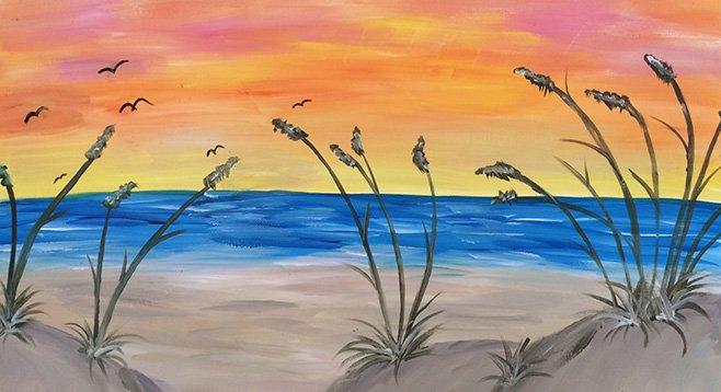 Tuesday, May 6: Painting & Vino