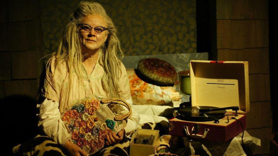 Annie Hinton as Big Edie in Grey Gardens
