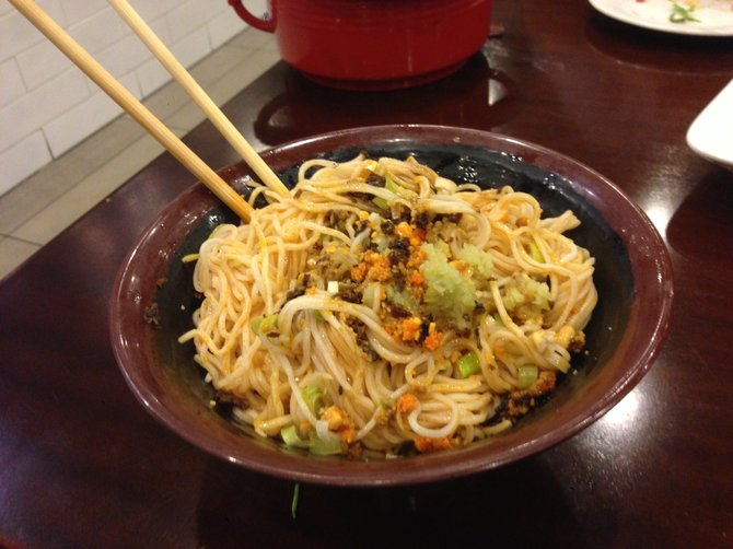 These dan dan noodles may be perfect, but I'd never be the one to tell you so.