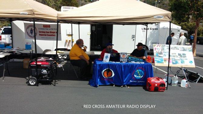 Red Cross Display