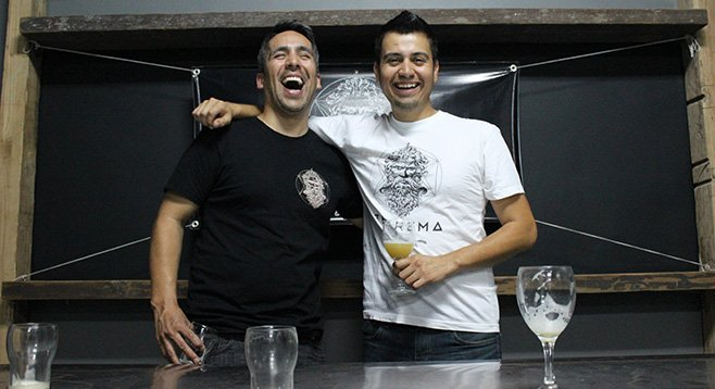 For their Teorema Cervecería, Luis Durazo and Edgar Martinez infuse brews with new ingredients.