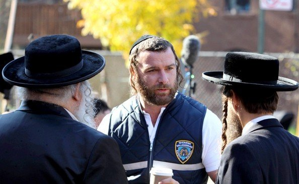 I would happily watch an entire film of Liev Schreiber, Jewish Detective.