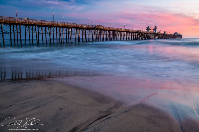 Photo oceanside pier by andrew shoemaker san diego reader for Oceanside pier fishing reports