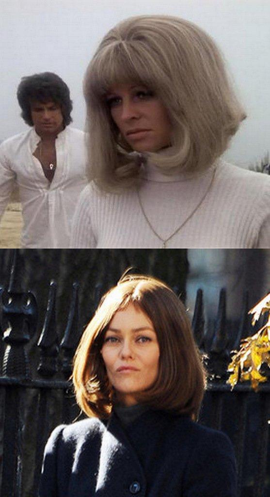 Julie Christie in Shampoo, Vanessa Paradis in Fading Gigolo.