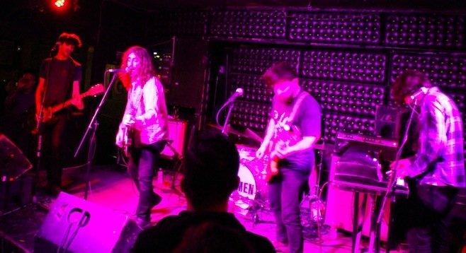 Brooklyn guitar-rock band the Men at Casbah