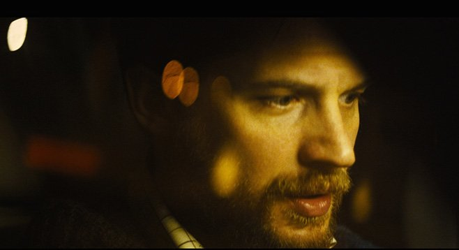 Locke: Tom Hardy discovers that his car stereo is stuck on the Muzak channel.