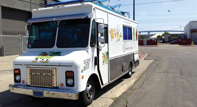 The Dreams for Change food truck