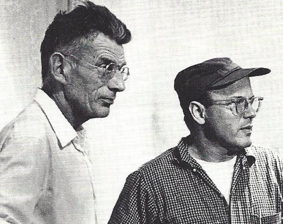 Samuel Beckett and Alan Schneider