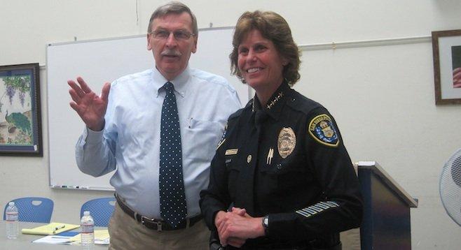 John Pilch and Shelley Zimmerman