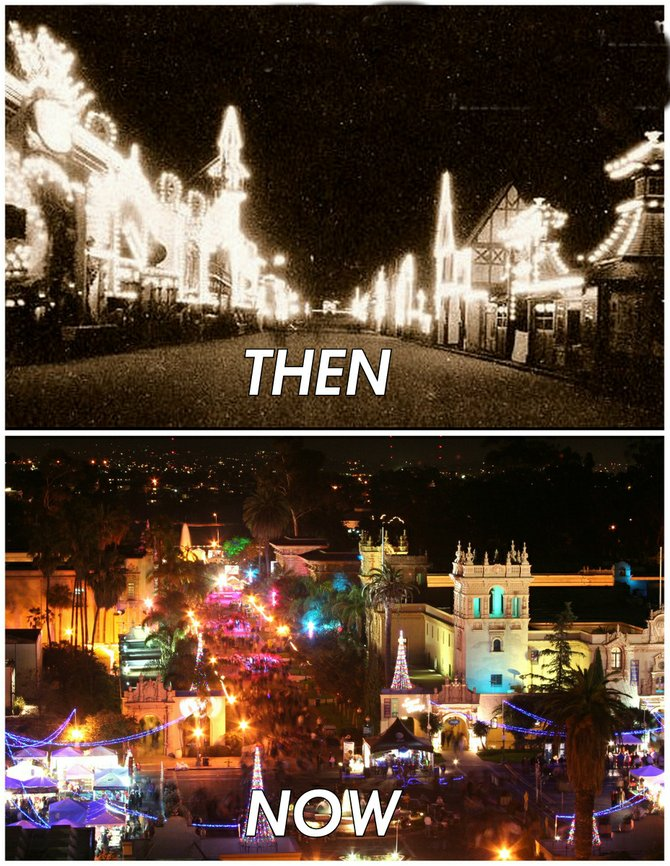 """Then: Christmas on the Isthmus. Now: December Lights! (Possible new name: The Solstice Spectacular.)"""