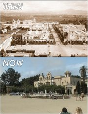 """Our inspiration stems from [gropey] Mayor Filner's efforts to restore the Plaza de Panama to its 1915 status as a grand pedestrian space. We thought, 'Why not restore other elements of the original 1915 Panama-California Exposition that gave birth to Balboa Park as we know it — but in a way that reflects our modern world?'"""