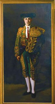 Portrait of El Matador, Felix Asiego, 1906. Oil on canvas. LeClair family collection