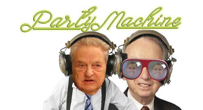 Donation deejays Soros and Jacobs usually lay down the same big money beat.