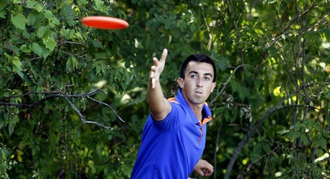"They call pro Frisbee golfer Paul McBeth ""McBeast."""