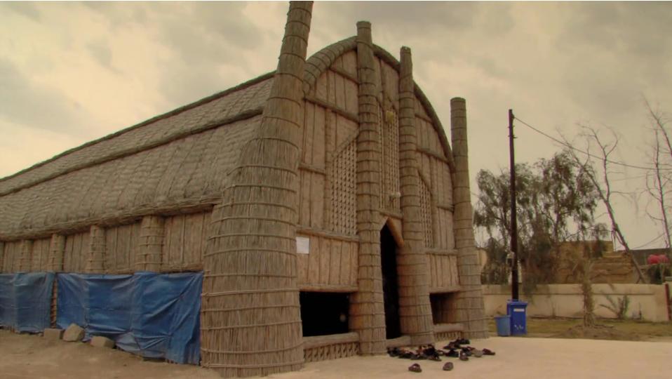 Marsh-reed building from Marshland Dreams